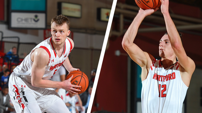 Two+Hartford+Men%27s+Basketball+Players+Named+to+Preseason+All-Conference+Team