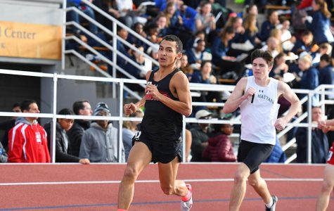 University of Hartford's Track and Field team competes at the Gotham Cup