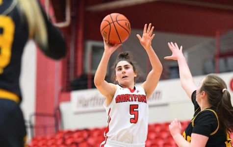 Hartford Women's Hoops Routs UMBC Behind Lindsey Abed's Record Setting Performance