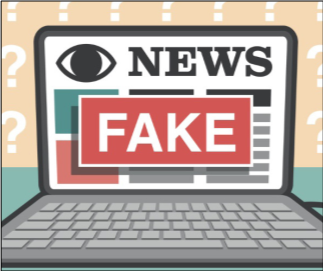 The spread of fake news