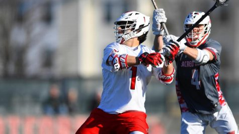 Men's lacrosse falls to Sacred Heart
