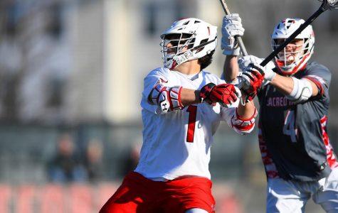 Men's lacrosse falls to Sacred Heart