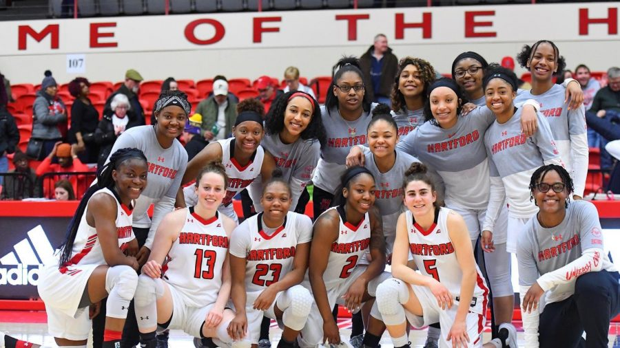 Women's basketball secures spot in the AE championship