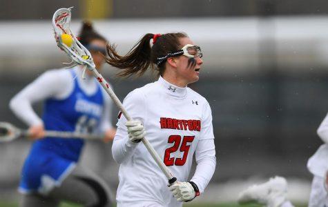 Women's lacrosse falls to Holy Cross Crusaders