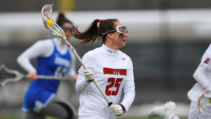 Women's lacrosse falls to Holy Cross Crusaders