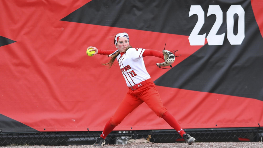Softball Battles Stony Brook
