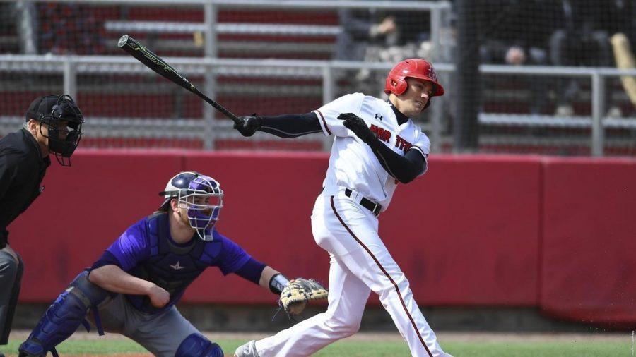 Baseball+swept+by+Binghamton+Bearcats