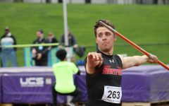 Track and field competes at AE Championships
