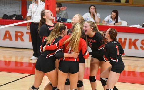 Women's Volleyball is on a winning streak
