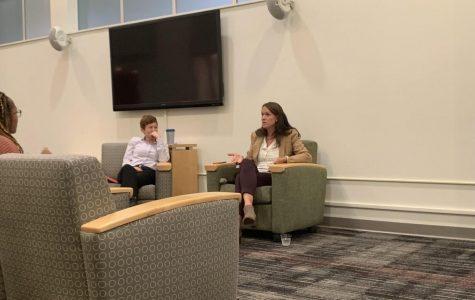 CT State Representative, Jillian Gilchrest visits UHart