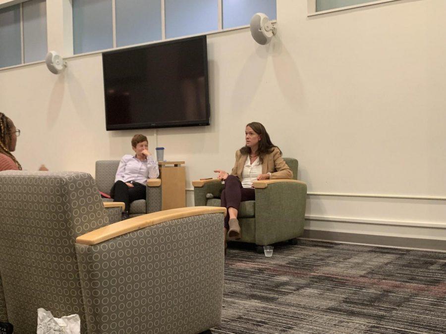 CT+State+Representative%2C+Jillian+Gilchrest+visits+UHart