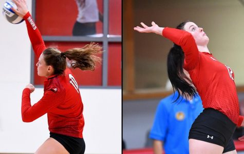 Women's volleyball dishes out another win