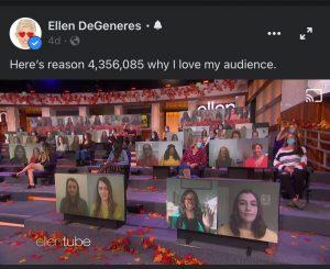 Courtesy of Ellen DeGeneres Facebook