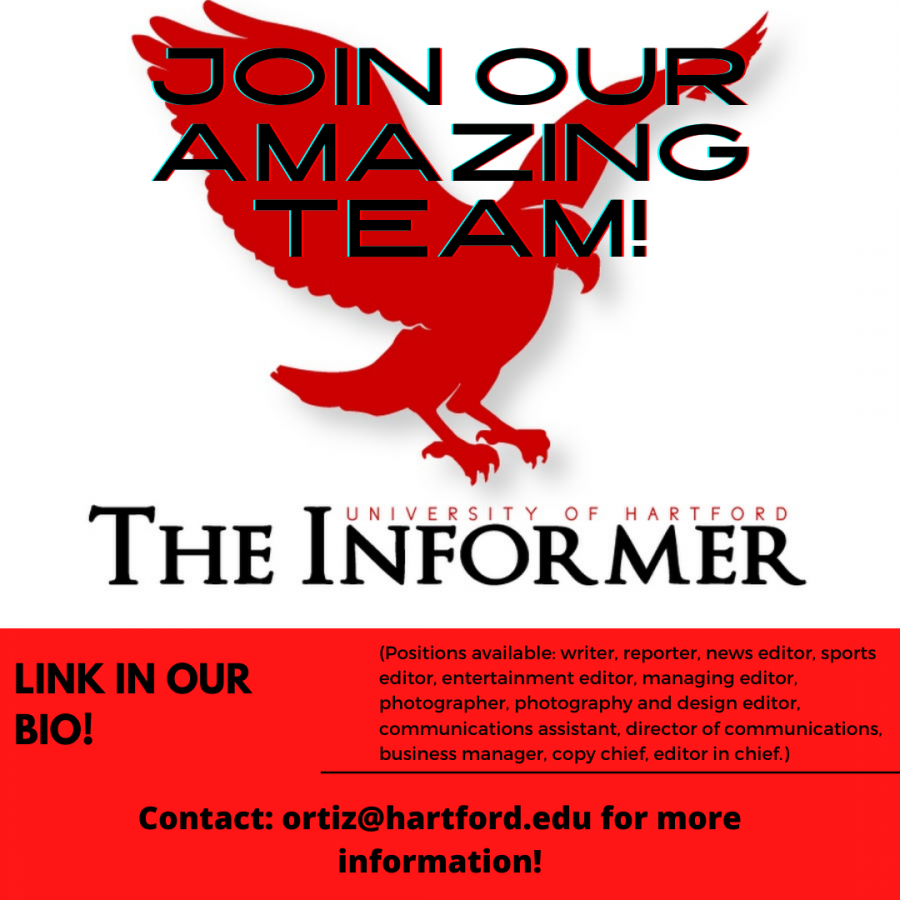 THE INFORMER 2021-2022 APPLICATION AVAILABLE!