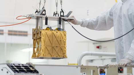 NASA Rover Makes Breathable Air On Mars